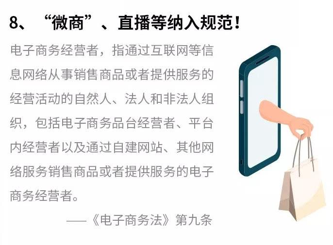 《电子商务法》将微商、直播平台等纳入监管.jpg